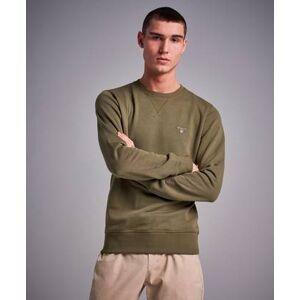 Gant Sweatshirt The Original C-Neck Sweat Field Green Grön