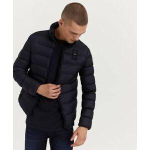 Blauer Jacka Light Weight Hooded jacket 999 Black Svart