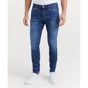 Tiger of Sweden Jeans Evolve Stray Mid Blue Blå
