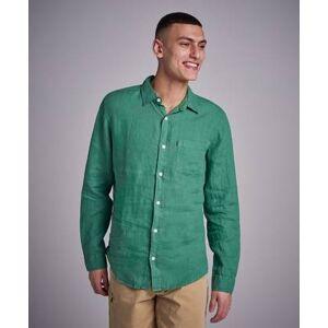 Lexington Ryan Linen Shirt Grön