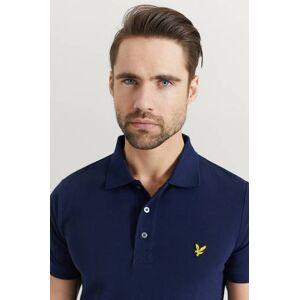 Scott Lyle & Scott Pikétröja Plain Polo Shirt Blå