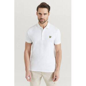 Scott Lyle & Scott Pikétröja Plain Polo Shirt Vit