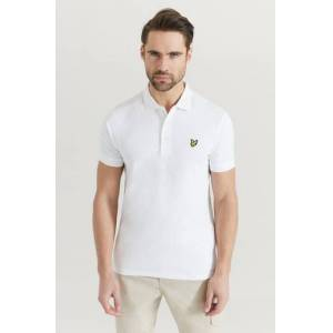 Scott Lyle & Scott Pikétröja Plain Polo Shirt Vit  Male Vit