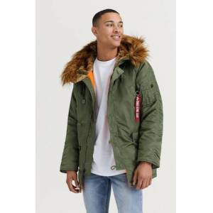 Alpha Industries Parkas N3B VF 59 257 Grön