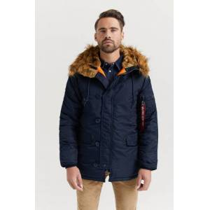 Alpha Industries Parkas N3B VF 59 257 Blå