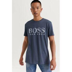Boss T-Shirt RN Logo Grå