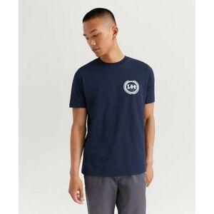 Lee T-Shirt Emblem Tee Blå