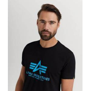 Alpha Industries T-Shirt Basic T-shirt Svart