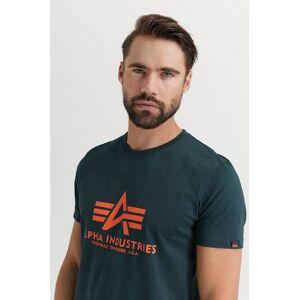 Alpha Industries T-Shirt Basic T-shirt Blå