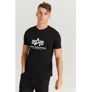 Alpha Industries T-Shirt Basic T-Shirt Svart