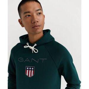 Gant Hoodie Gant Shield Hoodie Grön
