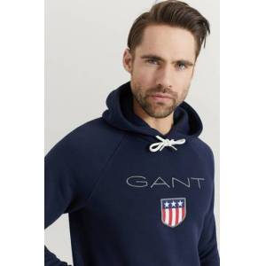 Gant Hoodie Gant Shield Hoodie Blå