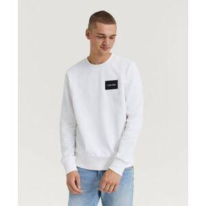 Calvin Klein Chest Box Logo Sweatshirts Blå