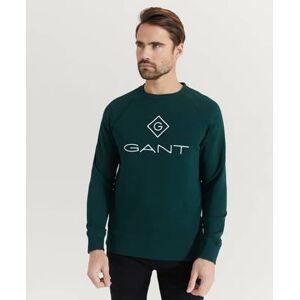 Gant Sweatshirt D1 Gant Lock-Up C-neck Sweat Grön