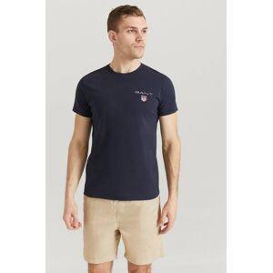 Gant T-Shirt Medium Shield SS T-shirt Blå