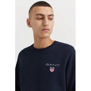 Gant Sweatshirt Medium Shield Crew Svart