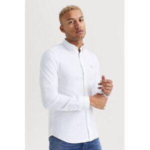 Gant SKJORTA The Oxford Shirt Slim BD Vit