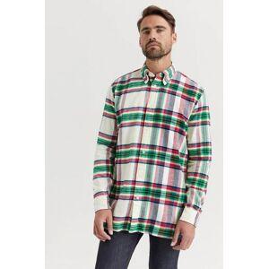 Tommy Hilfiger Skjorta Relaxed Blown Up Check Shirt Brun