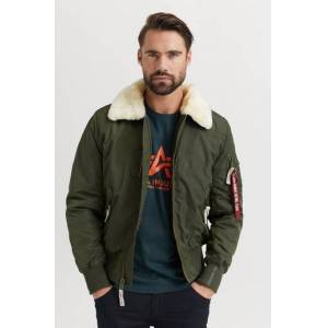 Alpha Industries Jacka Injector III Grön