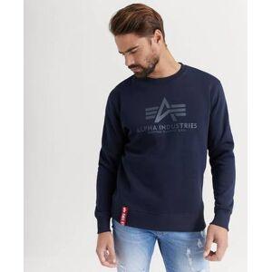 Alpha Industries SWEATSHIRT Basic Sweater Blå