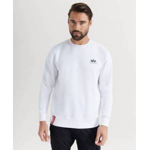 Alpha Industries SWEATSHIRT Basic Sweater Small Logo Vit