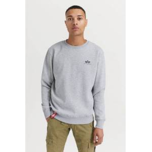Alpha Industries SWEATSHIRT Basic Sweater Small Logo Grå