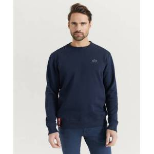 Alpha Industries SWEATSHIRT Basic Sweater Small Logo Blå