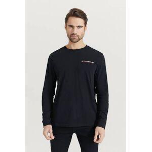 Tommy Hilfiger Långärmad T-shirt Long Sleeve Tee Svart