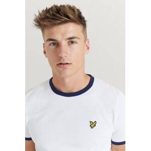 Scott Lyle & Scott T-Shirt Ringer T-Shirt Vit
