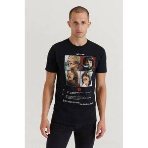 Rock Off T-Shirt The Beatles Tee Svart  Male Svart