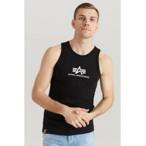 Alpha Industries Linne Basic Tank Svart