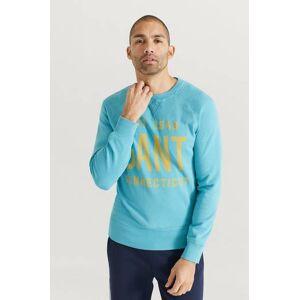 Gant Sweatshirt Summer Graphic C-neck Blå