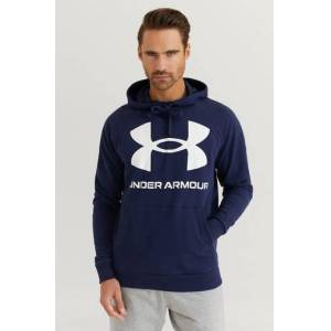 Under Armour Huvtröja Ua Rival Fleece Big Logo Hd. Blå  Male Blå