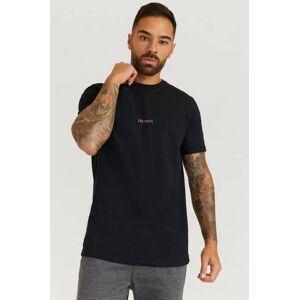 Les Deux T-Shirt Stayhard X Les Deux - Lens T-Shirt Svart  Male Svart