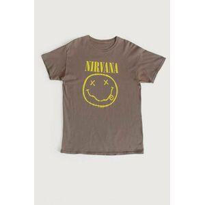 Vintage By Stayhard T-Shirt Nirvana Tee Grå