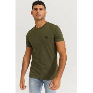 Calvin Klein T-Shirt Ck Essential Slim Tee Grön