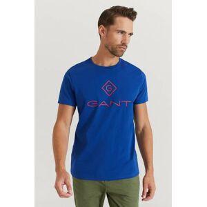 Gant T-Shirt D1. Color Lock Up SS T-shirt Blå