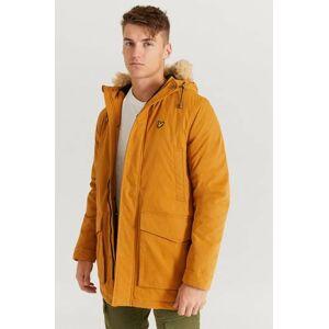 Scott Lyle & Scott Parkas Winter Weight Microfleece Lined Parka Orange  Male Orange