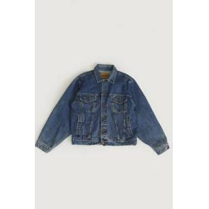 Vintage By Stayhard Jacka Boss Denim Jacket (90s) Blå
