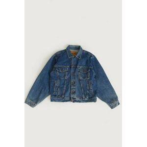 Vintage By Stayhard Jacka Boss Denim Jacket (90s) Blå  Male Blå