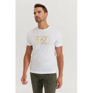 Giorgio Armani Ea7 Emporio Armani T-Shirt Gold Label Tee Vit  Male Vit