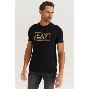 Giorgio Armani Ea7 Emporio Armani T-Shirt Gold Label Tee Svart
