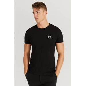 Alpha Industries T-Shirt Backprint T Svart
