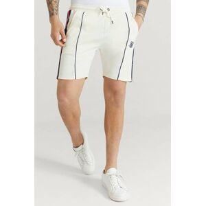 Siksilk Shorts Retro Tape Relaxed Shorts Vit  Male Vit