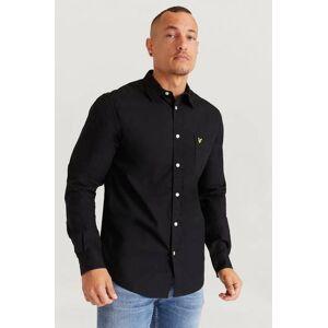 Scott Lyle & Scott Skjorta Cotton Ripstop Shirt Svart  Male Svart