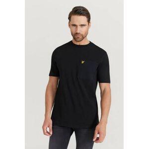 Scott Lyle & Scott T-Shirt Parachute Pocket Svart  Male Svart
