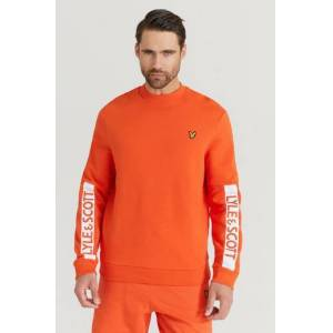 Scott Lyle & Scott Sweatshirt Branded Sweatshirt Orange  Male Orange