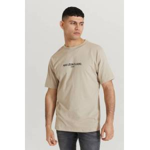 Speechless T-Shirt Relaxed Tee Printed Beige