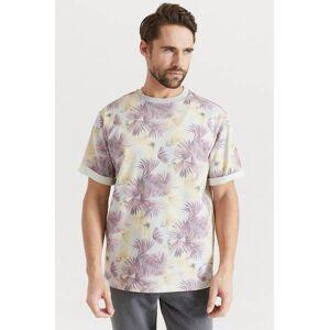 Studio Total T-shirt Botanical Relaxed Tee Rosa