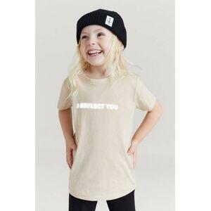 Stayhard Mini T-Shirt With Print Beige
